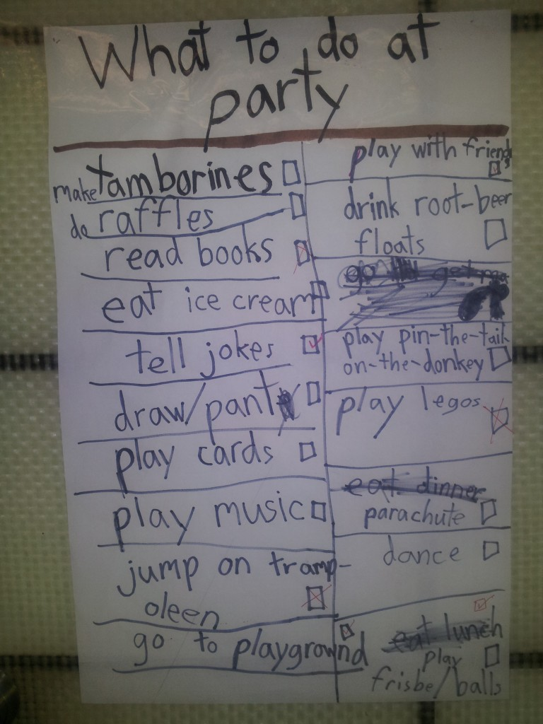 What to do at a party