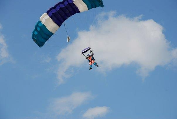 Michelene Sky Diving