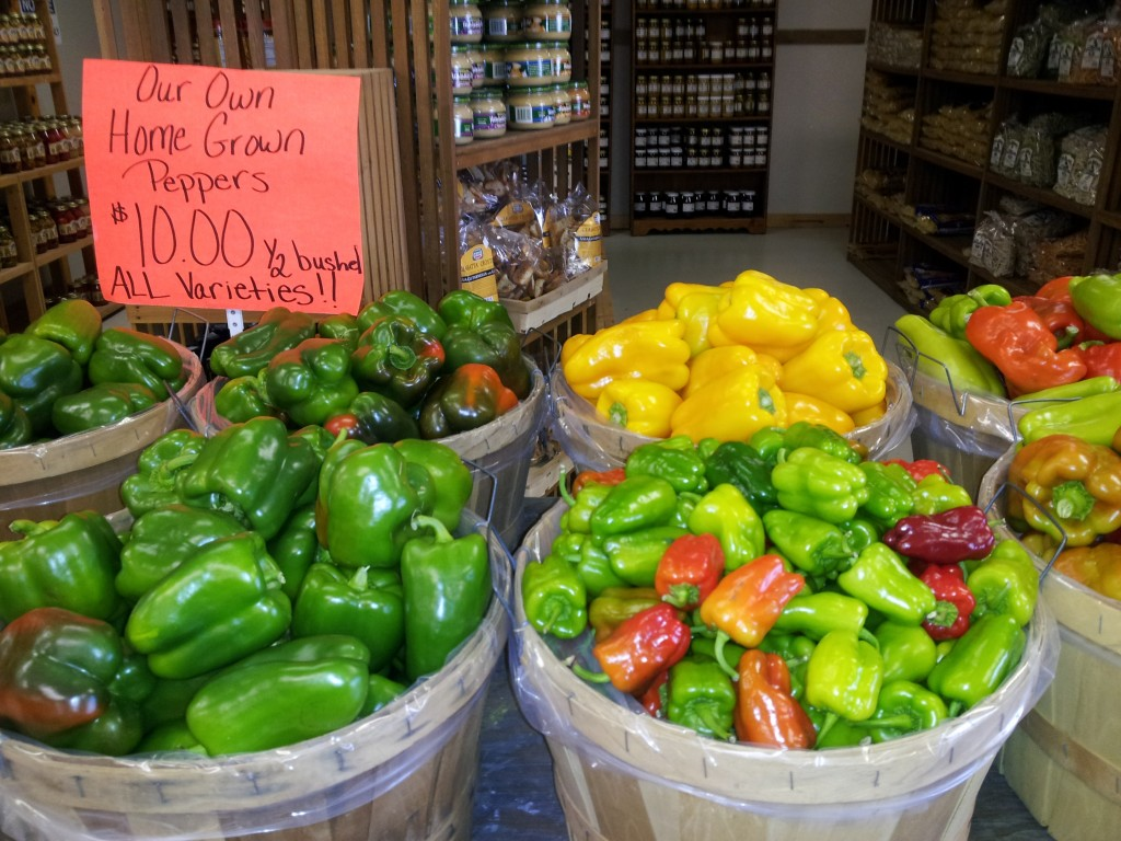 Peppers from Janoski Farms
