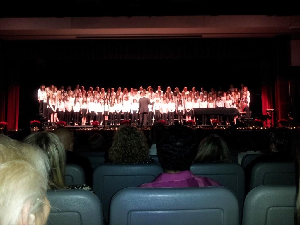 Gavin's Choral Concert December 2014