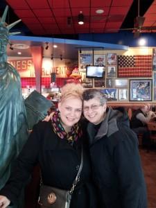 Jani and I at Red Robin
