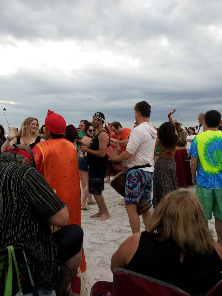 More Drumming on Siesta Key