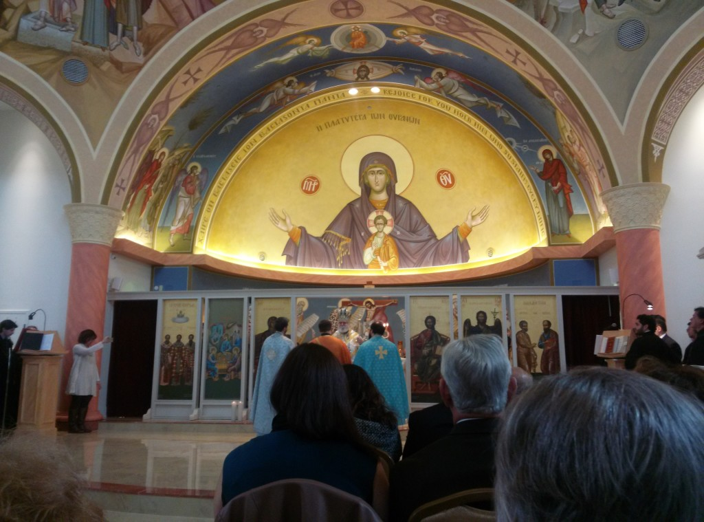 It was a big holiday too. The Presentation of the Theotokos.
