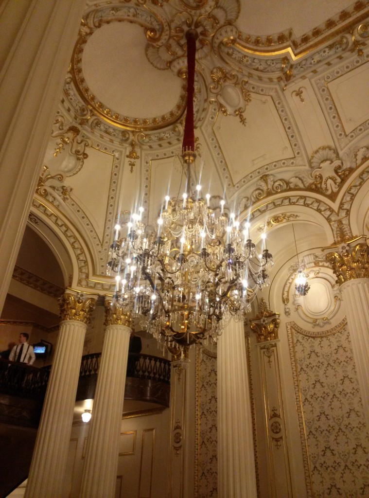 Heinz Hall- Even the chandelier is gorgeous!