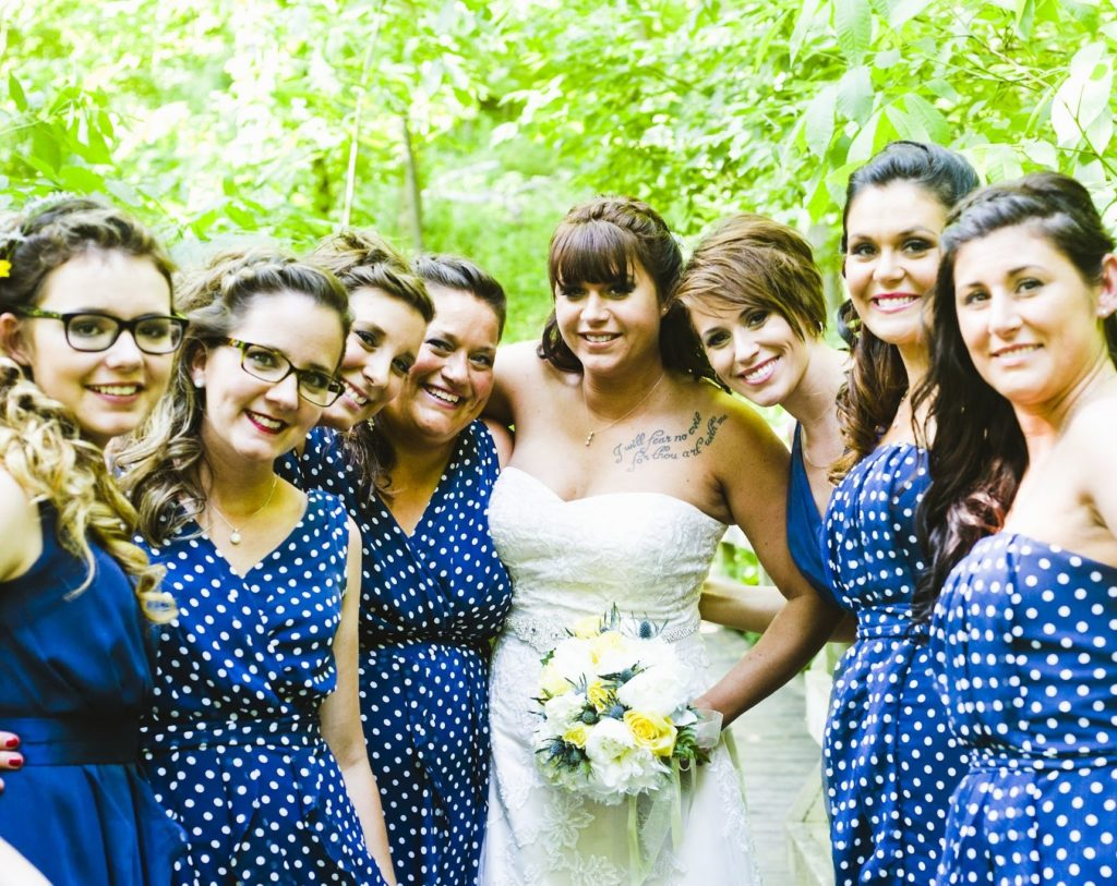 My June Wedding, Tara and her Bridesmaids